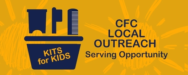 CFC Local Outreach Hygiene Kits Assembly